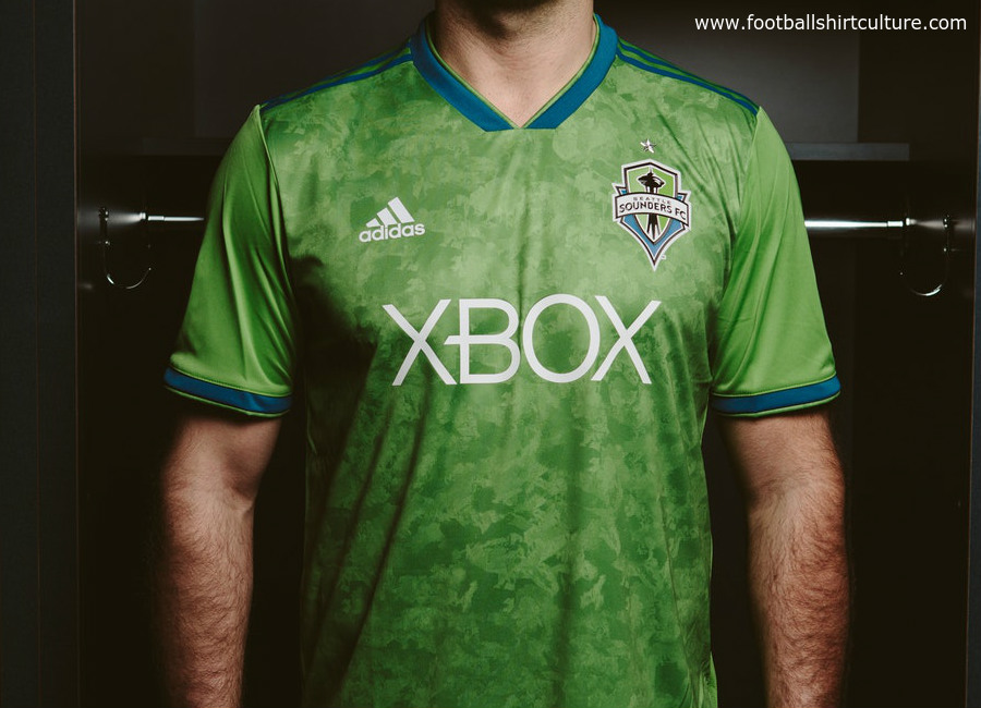 Seattle Sounders 2018 Adidas Home Kit