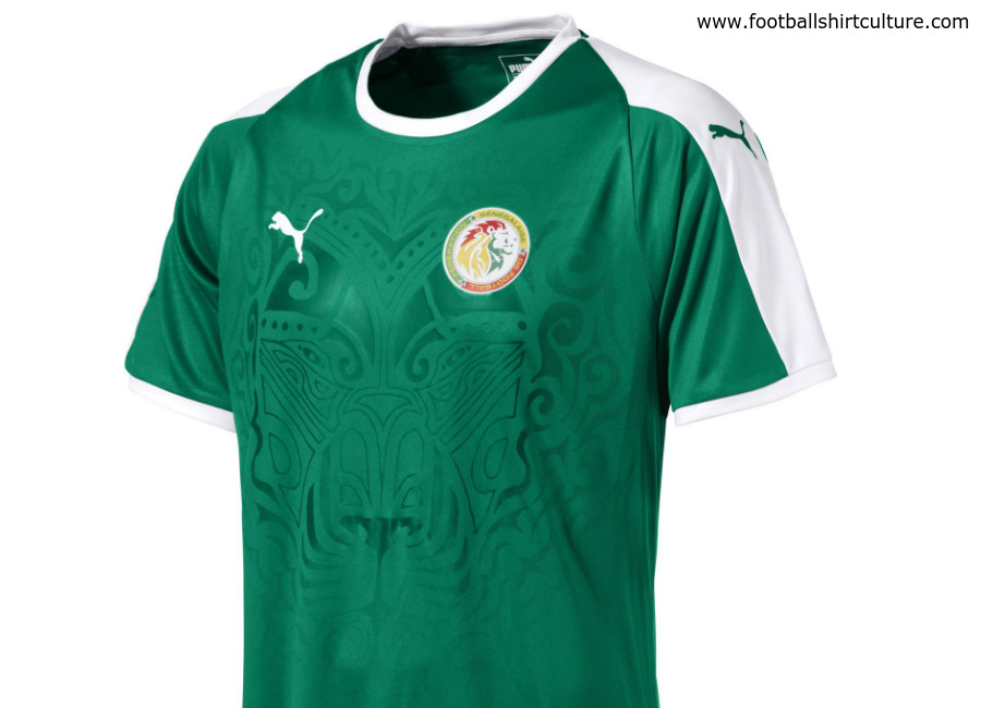 b3331f725d4 Senegal 2018 World Cup Puma Away Shirt