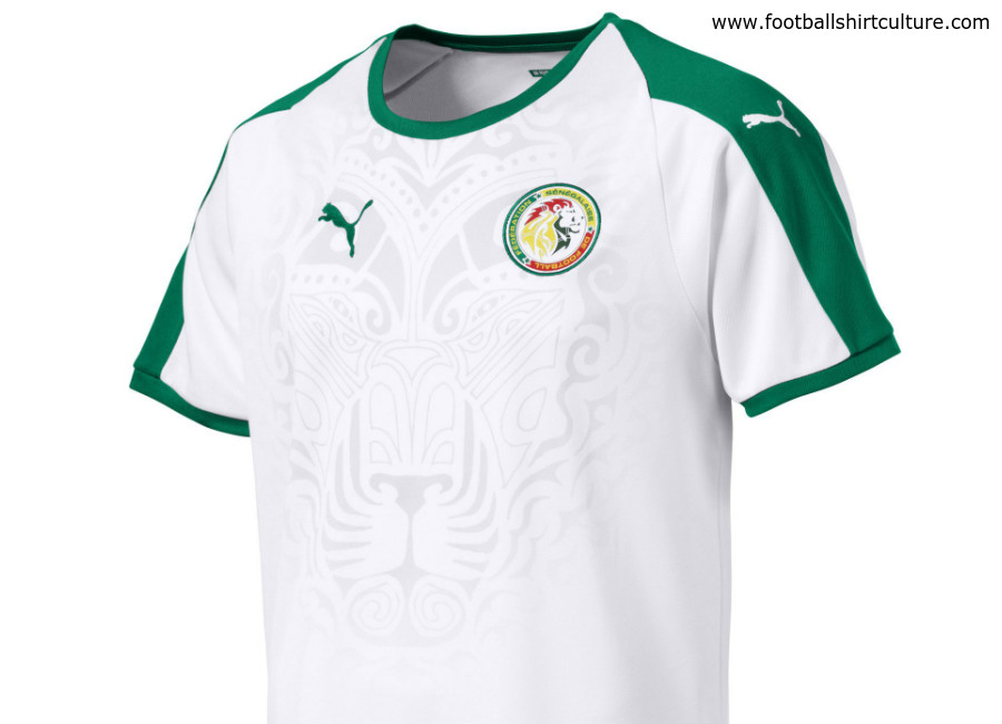 Senegal 2018 World Cup Puma Home Shirt