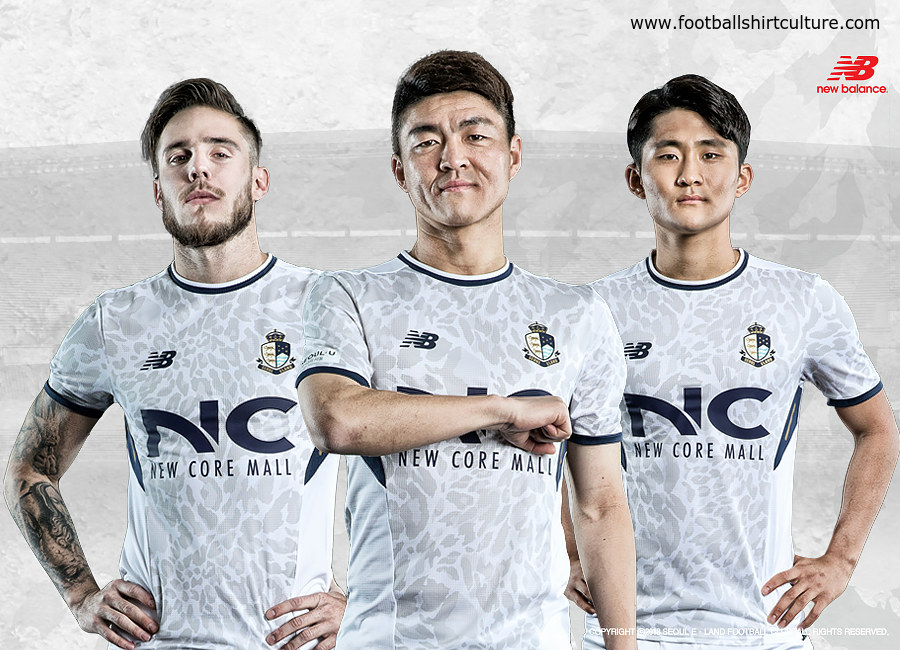 Seoul E-Land 2018 New Balance Away Kit