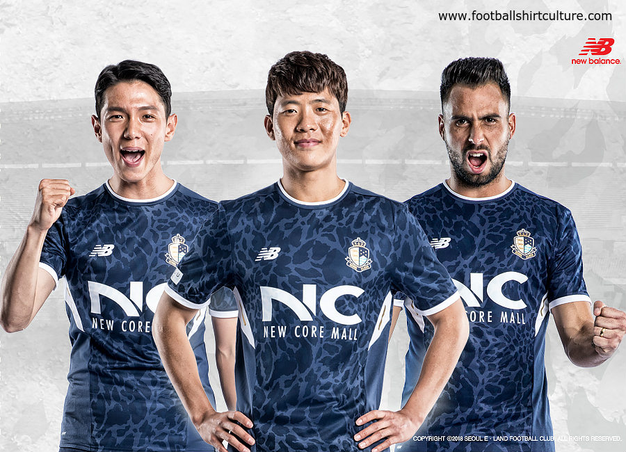 Seoul E-Land 2018 New Balance Home Kit