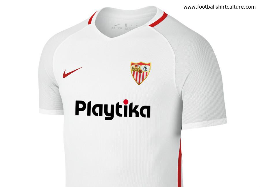 dc7a173d06eb3 Sevilla 2018-19 Nike Home Kit