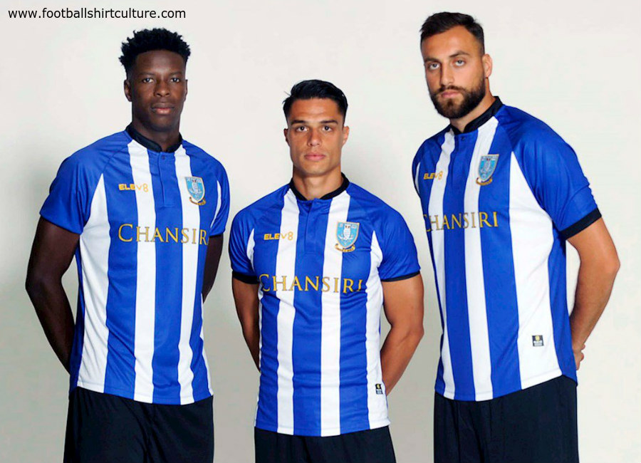 Sheffield Wednesday 2018-19 Elev8 Home Kit