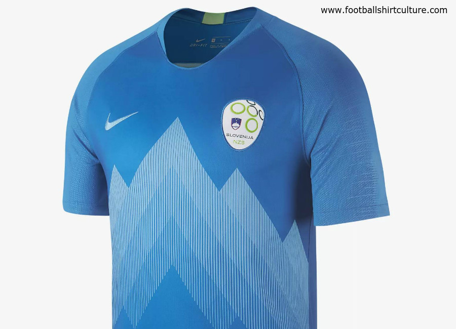 Slovenia 2018 Nike Away Kit