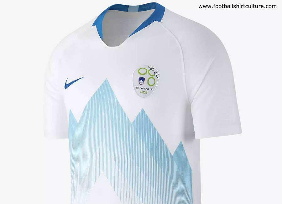 Slovenia 2018 Nike Home Kit