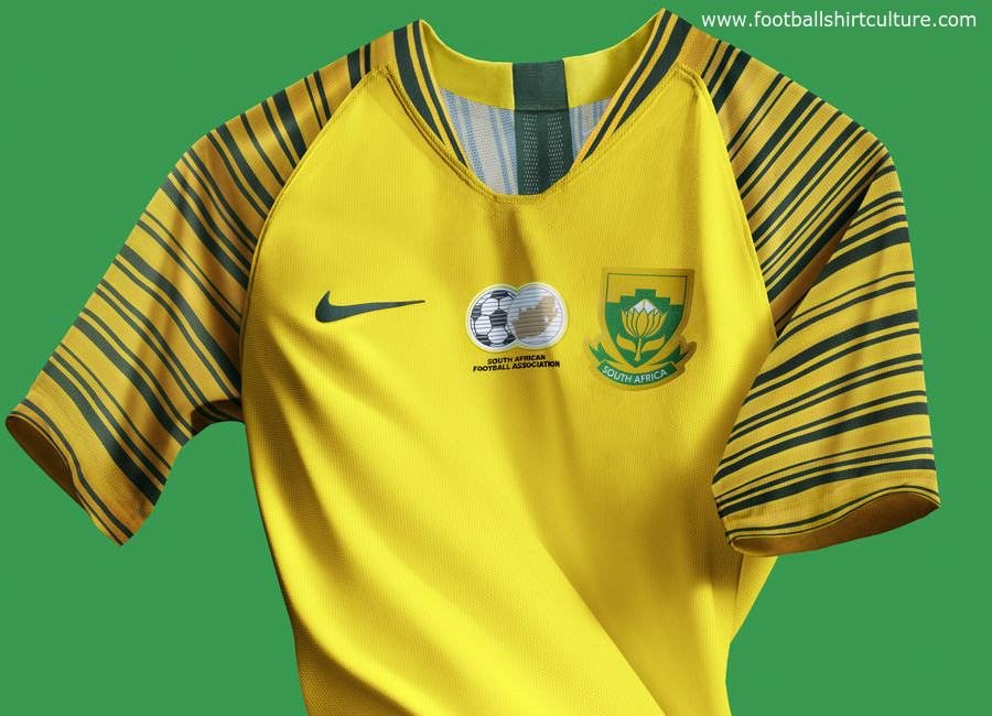South Africa 2018 Nike Home Kit