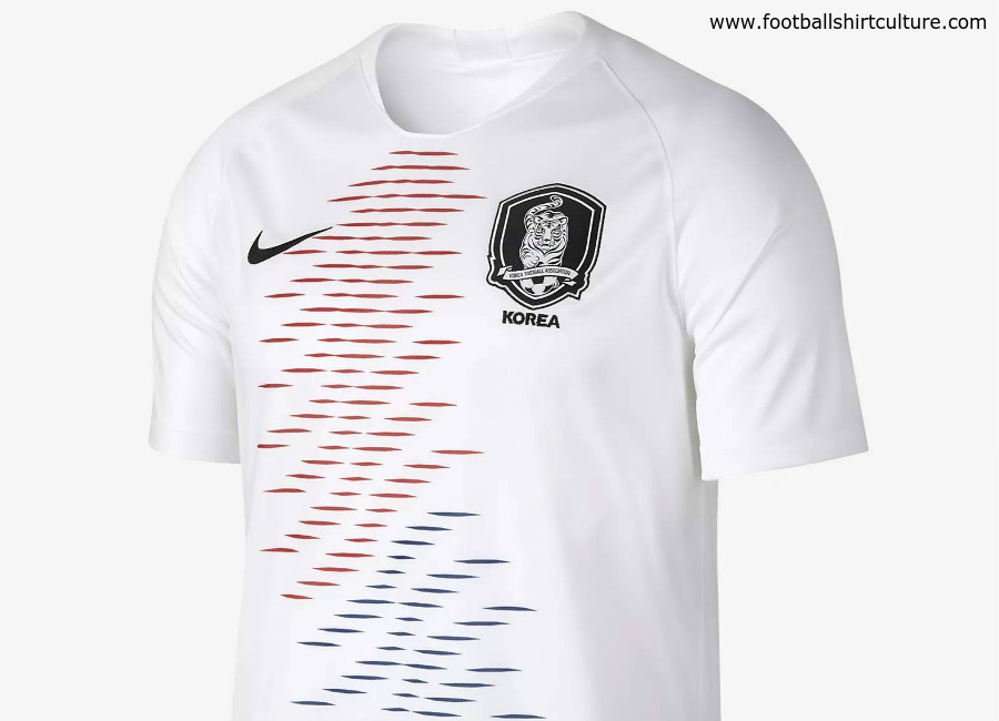 South Korea 2018 World Cup Nike Away Kit
