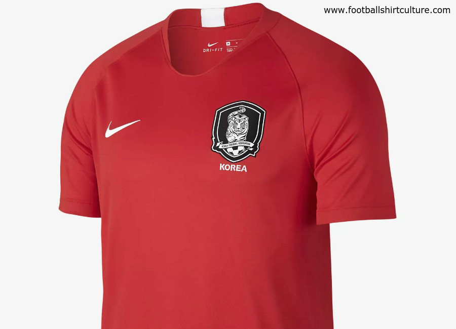 South Korea 2018 World Cup Nike Home Kit