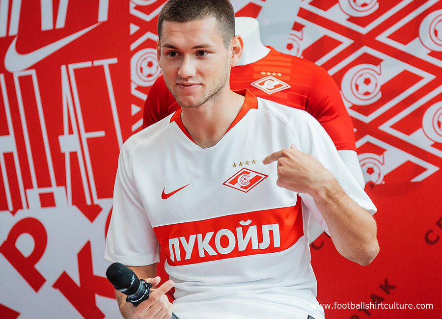 Spartak Moscow 2018-19 Nike Away Kit