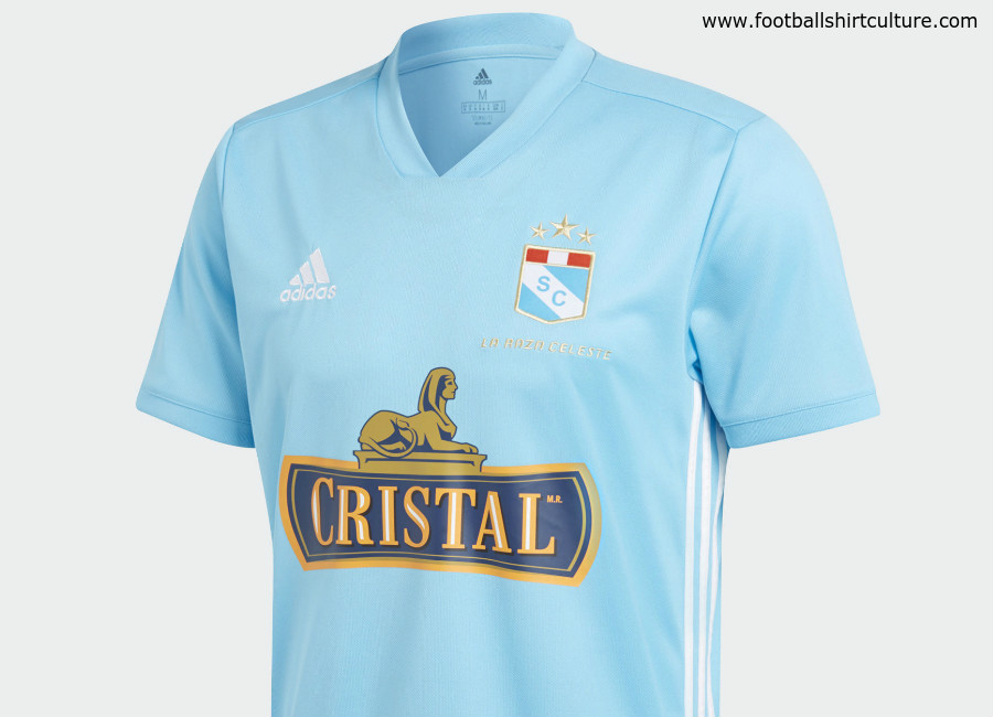 Sporting Cristal 2018 Adidas Home Kit