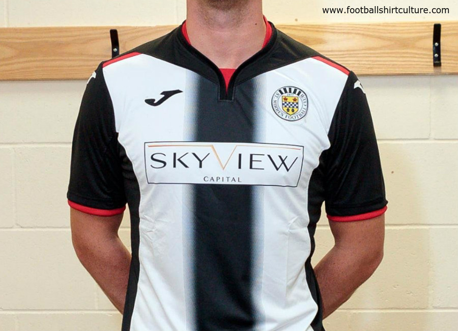 St Mirren 2018/19 Joma Home Kit