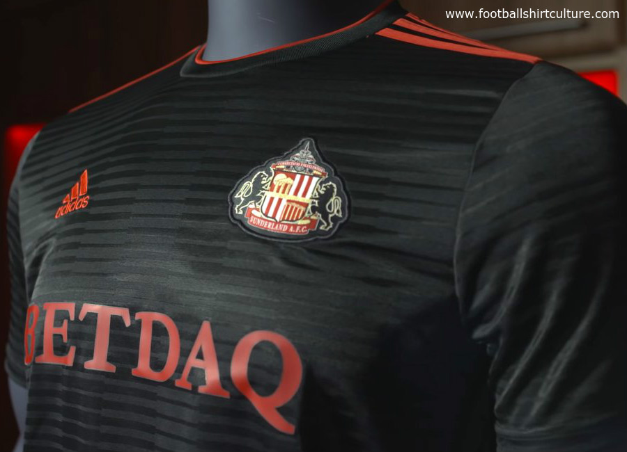 Sunderland 2018-19 Adidas Away kit
