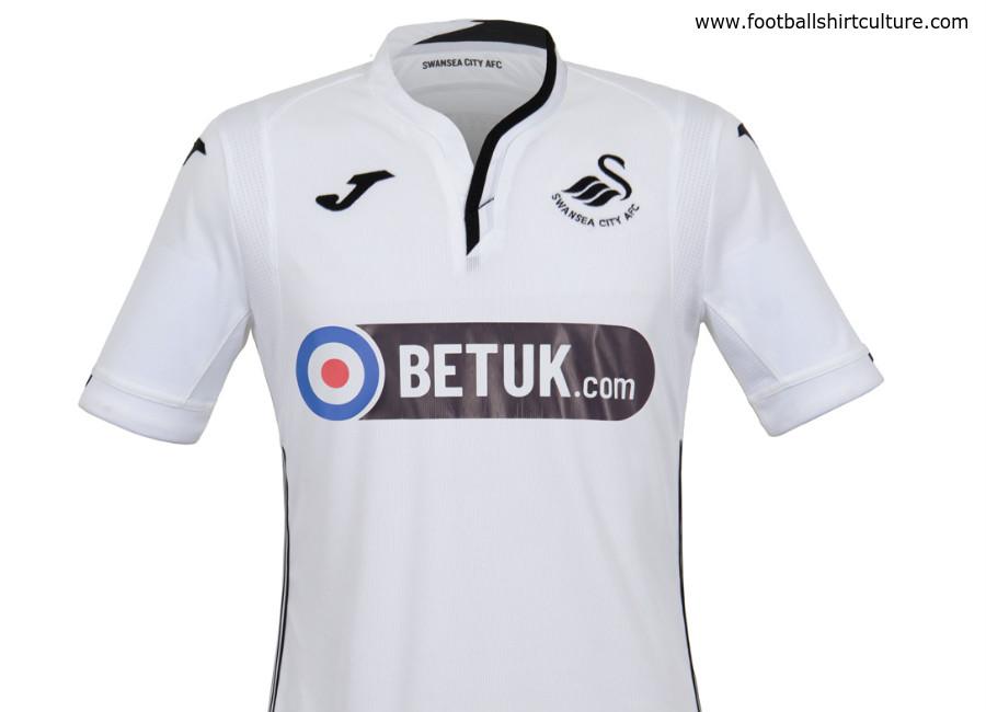 bd1fc3419 Swansea City 2018-19 Joma Home Kit