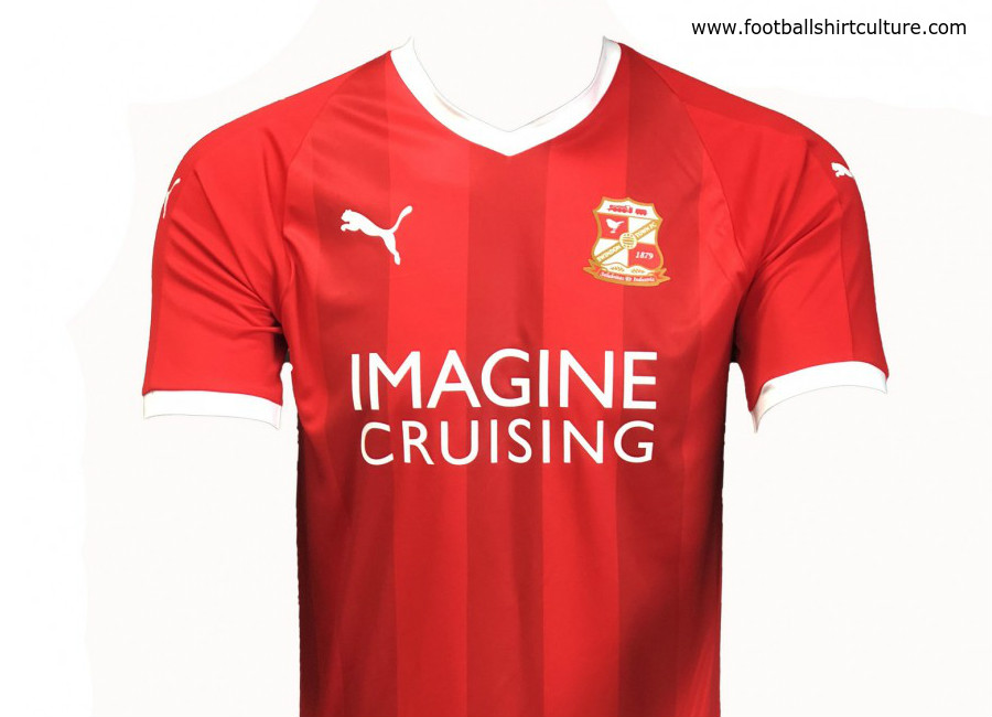 Swindon Town 2018-19 Puma Home Kit