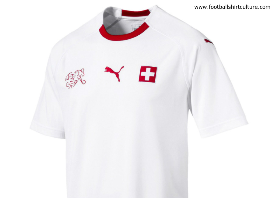 Switzerland 2018 World Cup Puma Away Kit