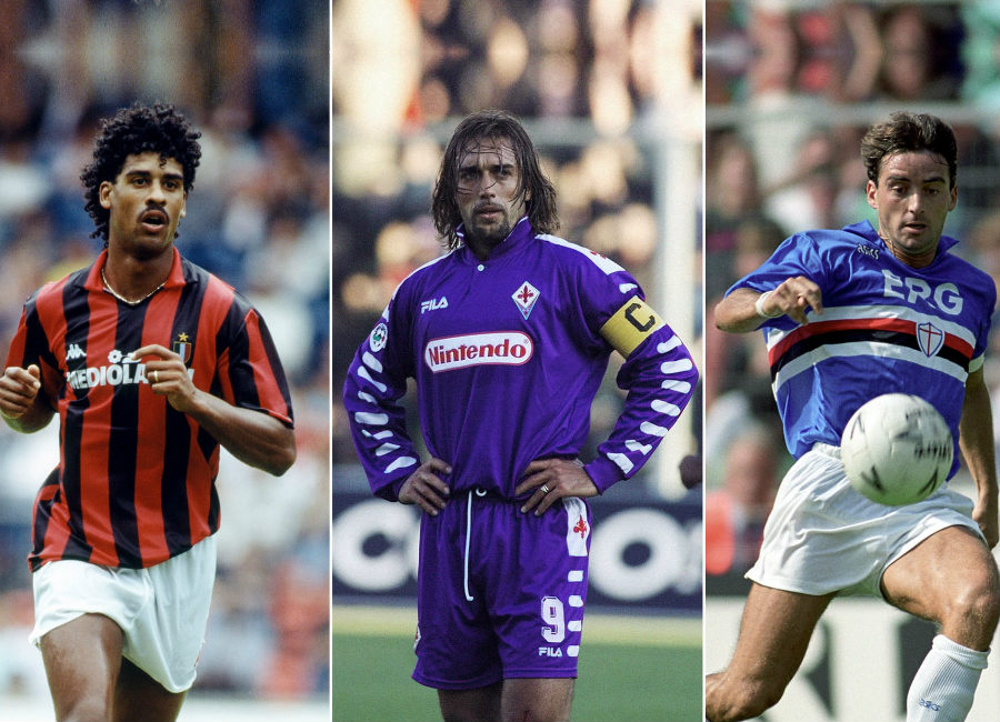 The Best Kits In The Last 50 Years Of Serie A