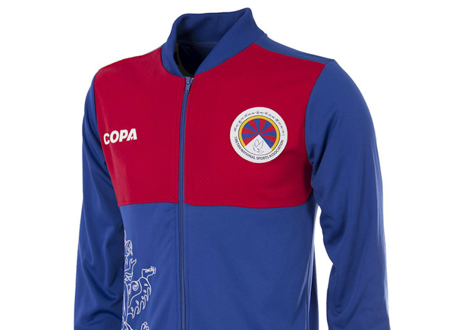 Tibet 2018-19 Copa Home Training Jacket - Blue