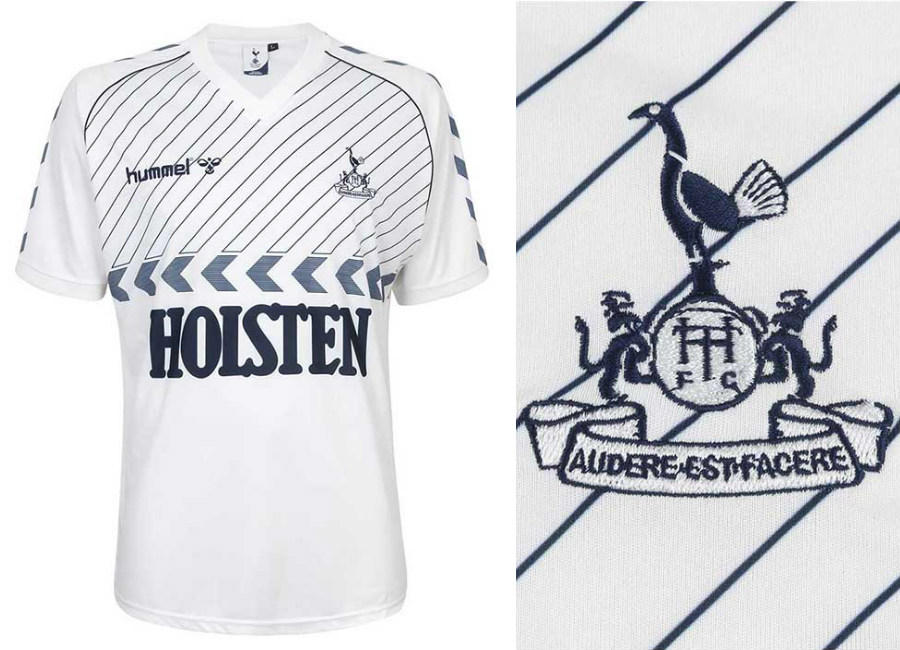 innovative design 7108f 961c9 Tottenham Hotspur 1986 Hummel Home Retro Shirt | Retro ...