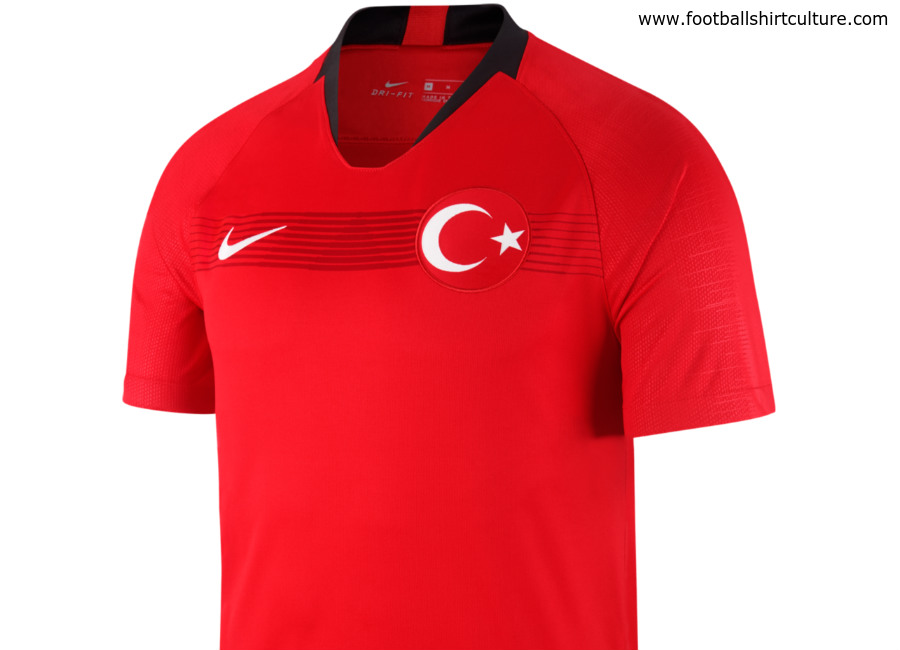 Turkey 2018 Nike Home Kit