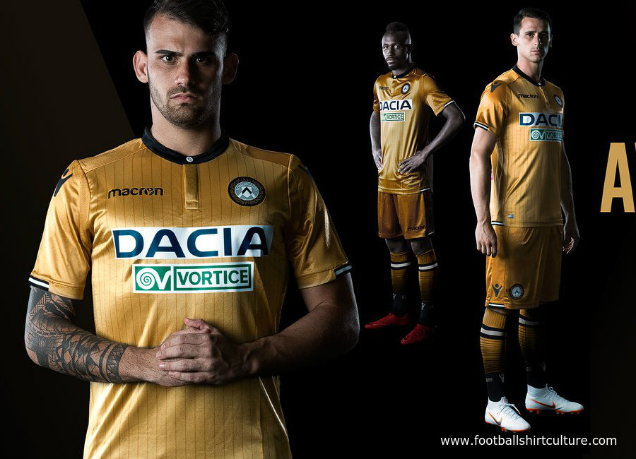 Udinese 2018-19 Macron Away Kit