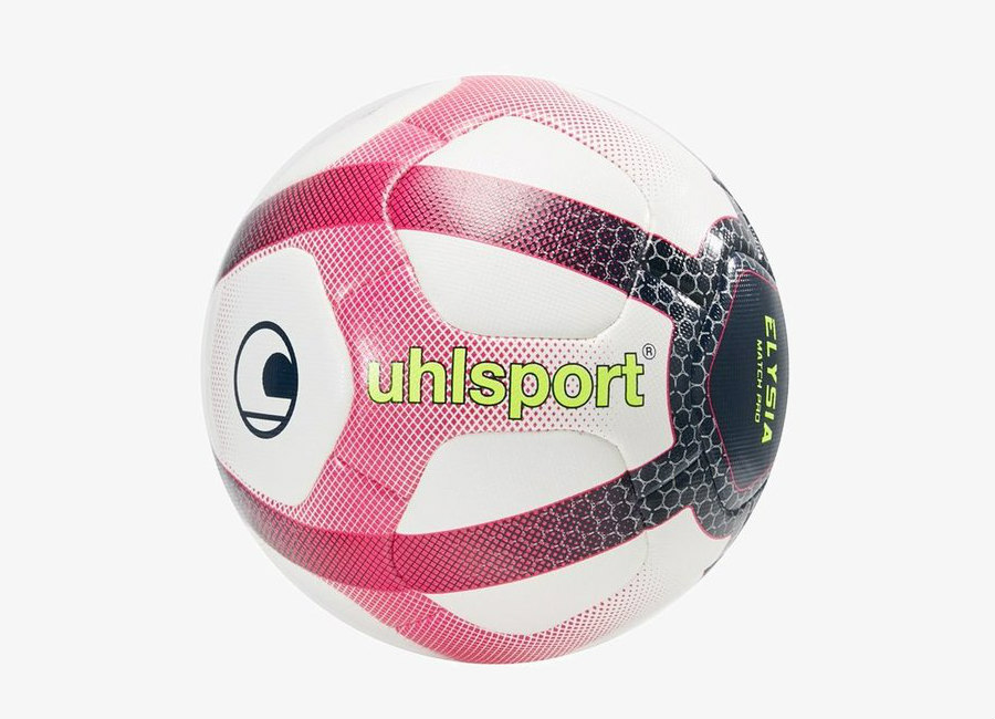 Uhlsport 2018/19 Elysia Official Match Ball - White / Navy / Fluo Yellow