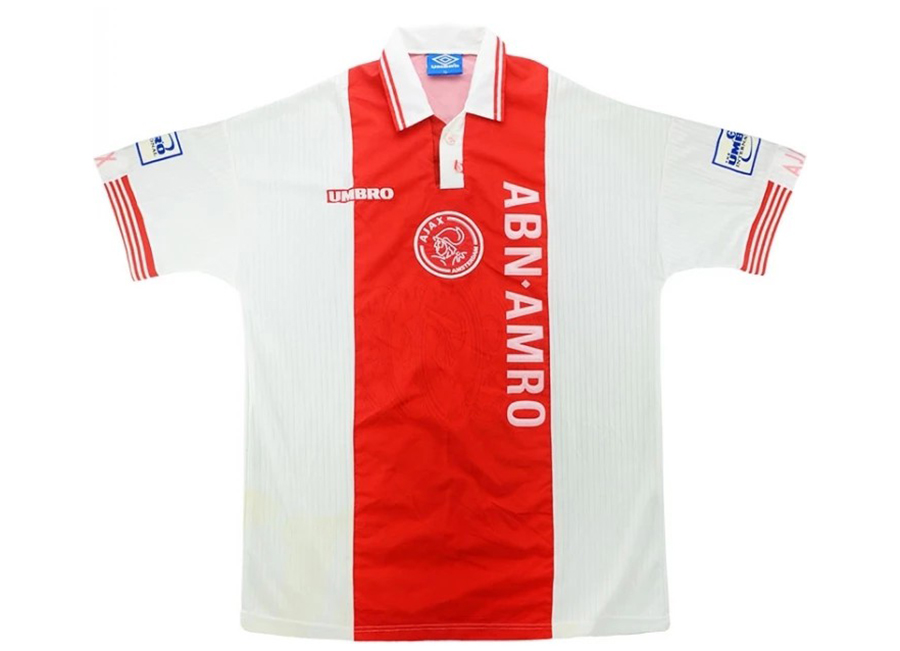 Umbro 1997-98 Ajax Match Issue Umbro Cup Home Shirt