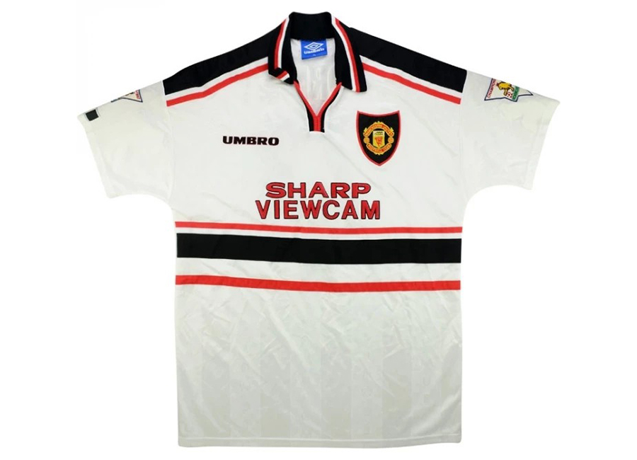 Umbro 1997-98 Manchester United Match Issue Away Shirt