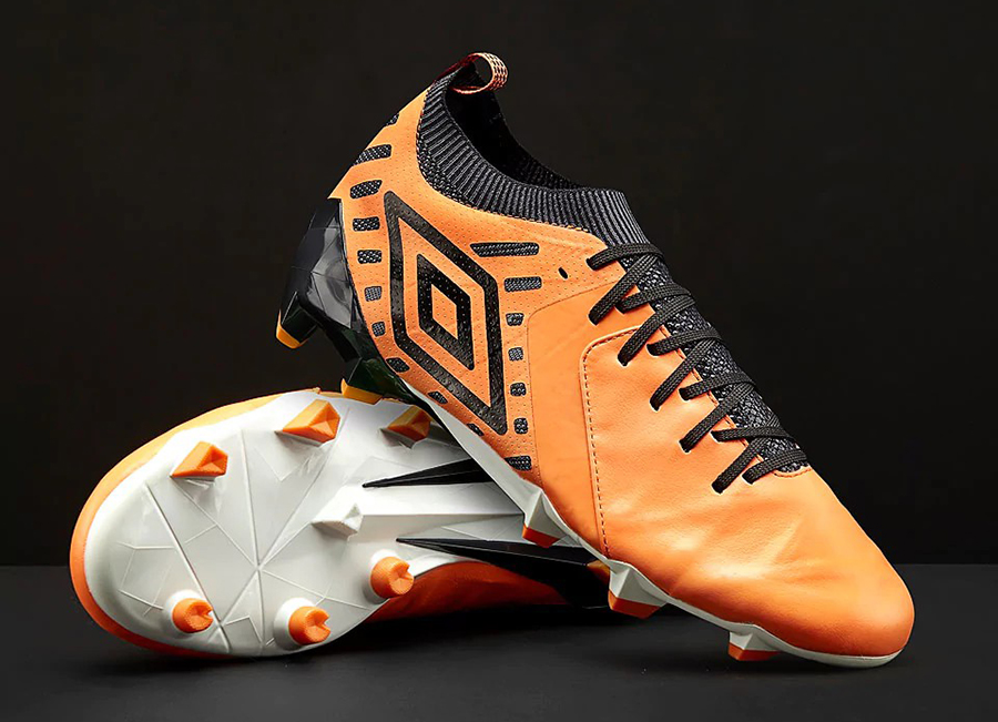 Umbro Medusae II Elite FG - Papaya / Black / White