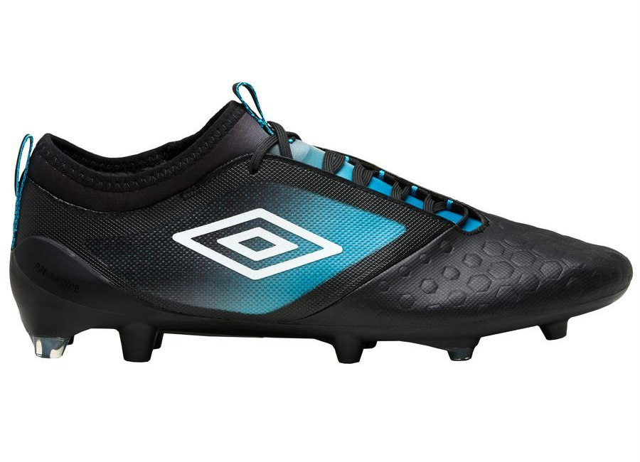 Umbro UX Accuro 2 Pro FG - Black / White / Caribbean Sea