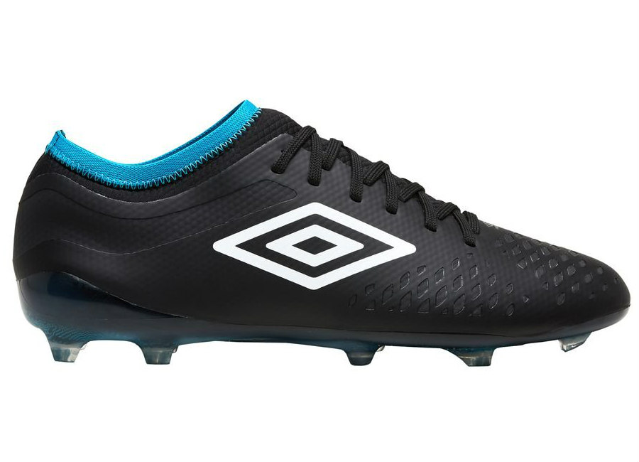 Umbro Velocita 4 Pro HG - Black / White / Caribbean Sea
