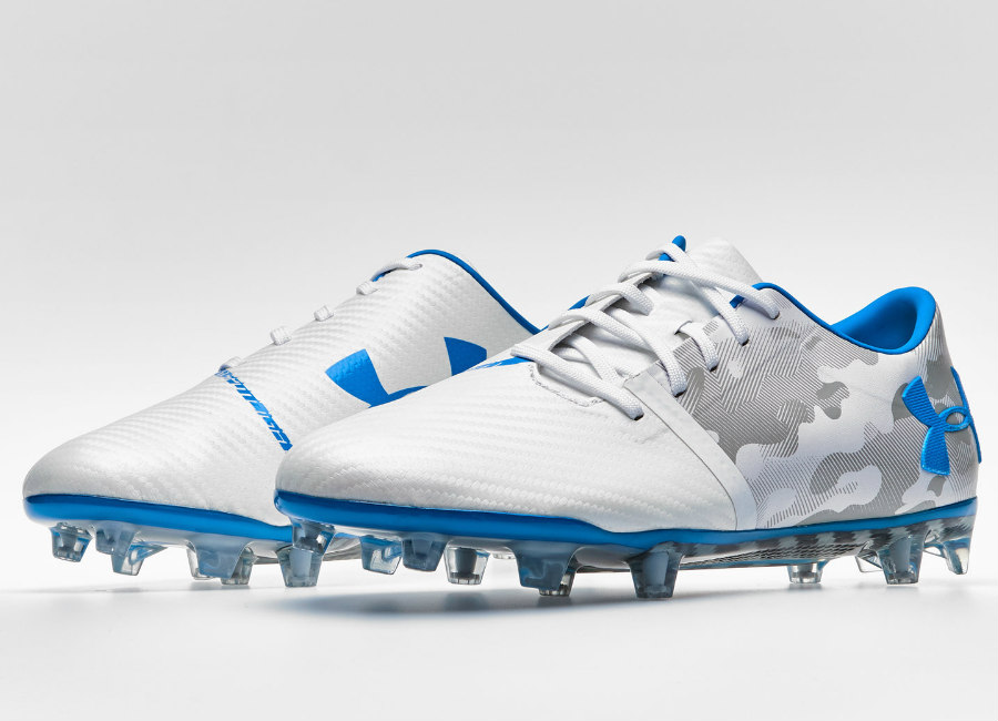 Under Armour Spotlight FG - Blue Circuit / White