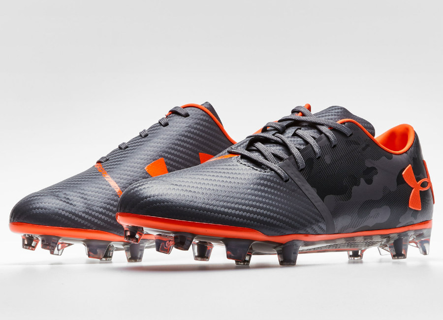 Under Armour Spotlight FG - Graphite / Magma Orange
