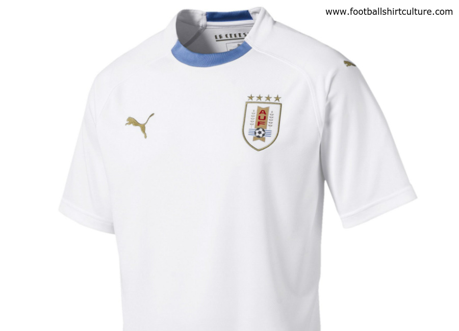 Uruguay 2018 World Cup Puma Away Kit