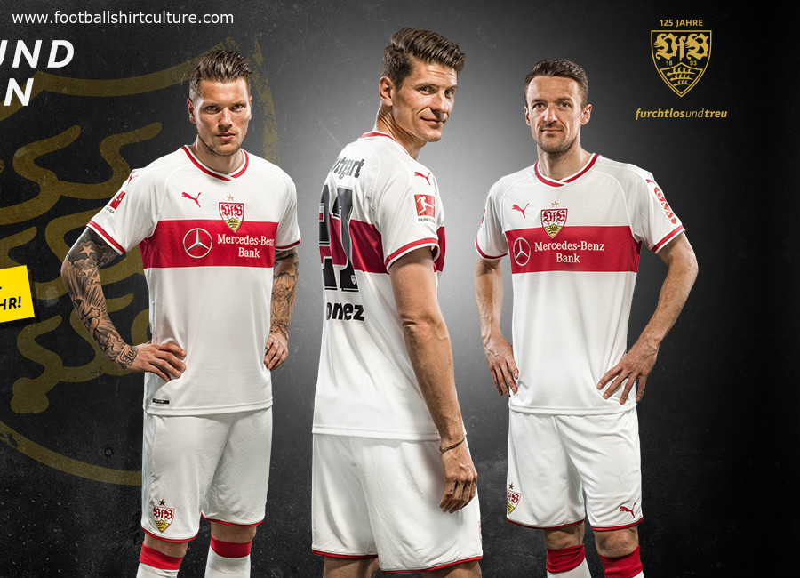 VfB Stuttgart 18/19 Puma Home Kit