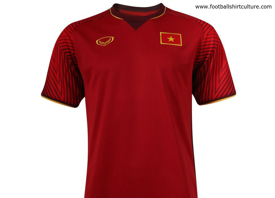 buy online 1305a dc623 Vietnam 2018 Grand Sport Home Kit | 17/18 Kits | Football ...
