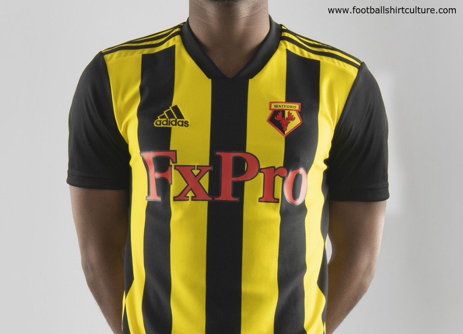 Watford 2018/19 Adidas Home Kit