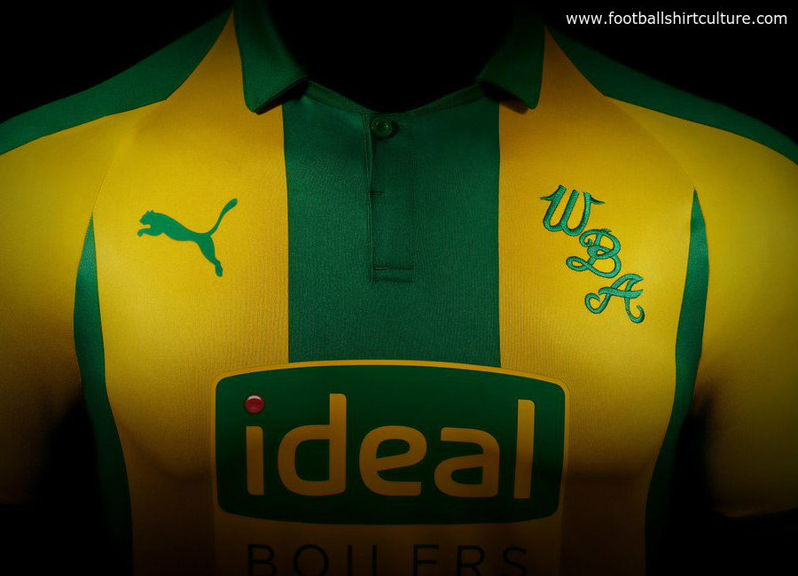 West Bromwich Albion 2018 19 Puma Away Kit 1819 Kits