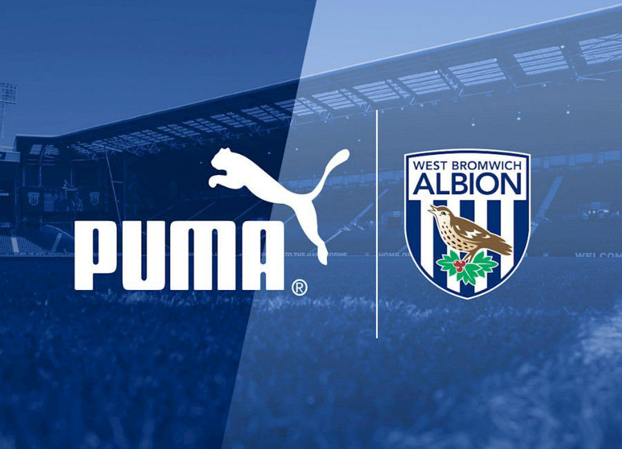 West Bromwich Albion Announce puma Kit Deal