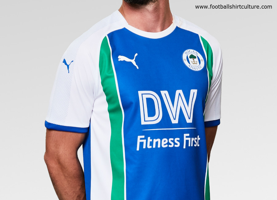 Wigan Athletic 2018-19 Puma Home Kit