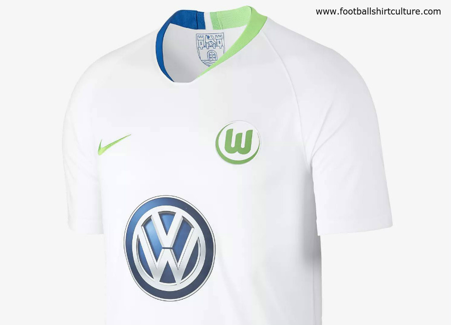 Wolfsburg 2018-19 Nike Away Kit
