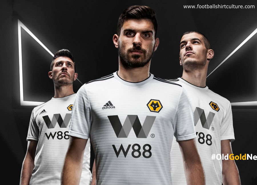 Wolves 2018-19 Adidas Away kit