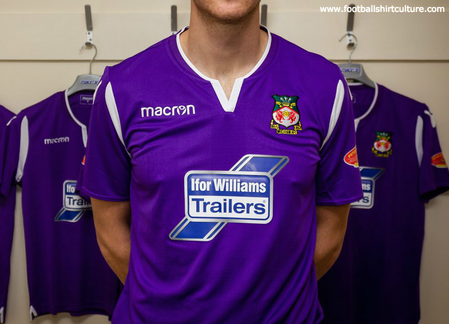 Wrexham 2018-19 Macron Third Kit