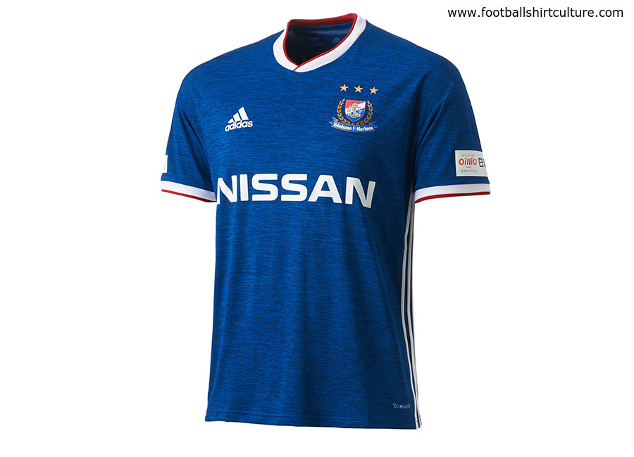 Yokohama F. Marinos 2018 Adidas Home Kit