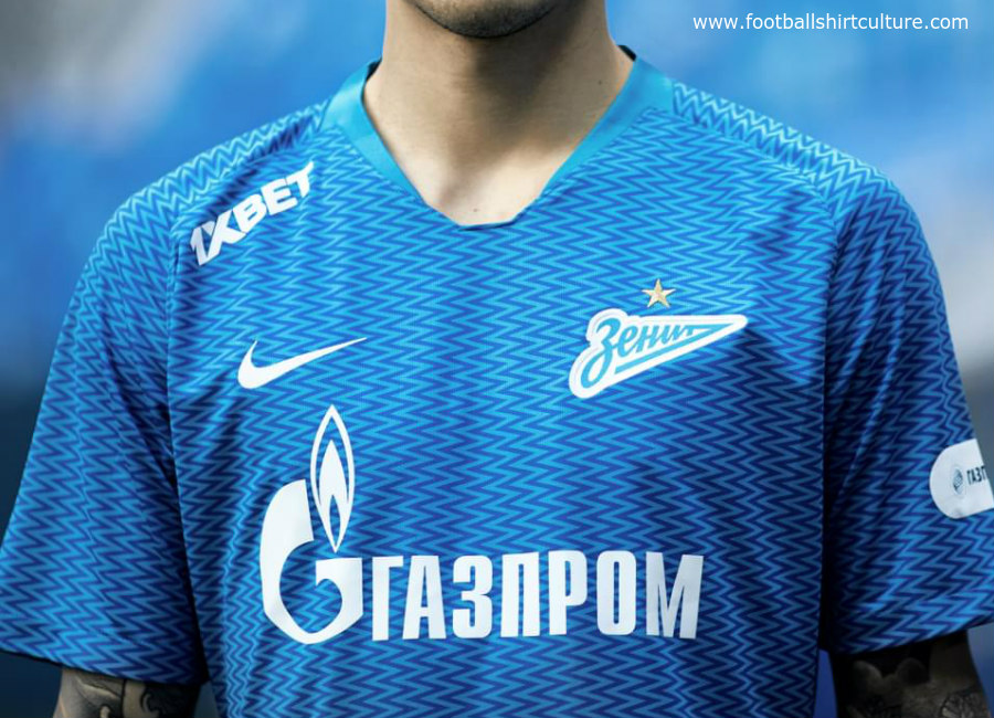 Zenit Saint Petersburg 18/19 Nike Home Kit