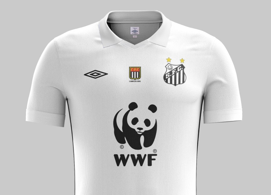 Top 35 #27 - Santos 2010 Home Kit #Santos #Santosfc