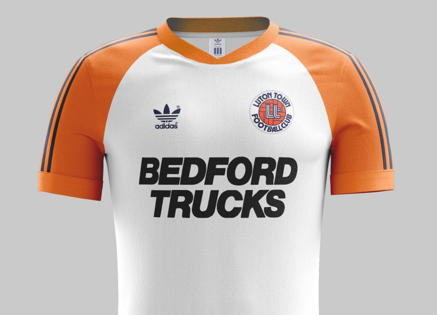 Top 35 #28 - Luton Town 1983 Home Kit #LutonTown #ltfc