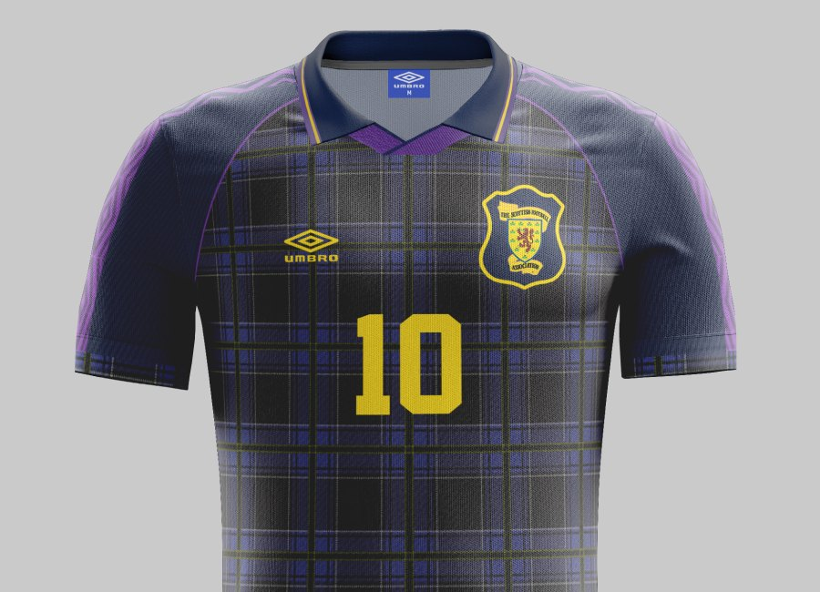 Top 35 #30 - Scotland 1994 Home Kit #scottishfootball #footballshirt