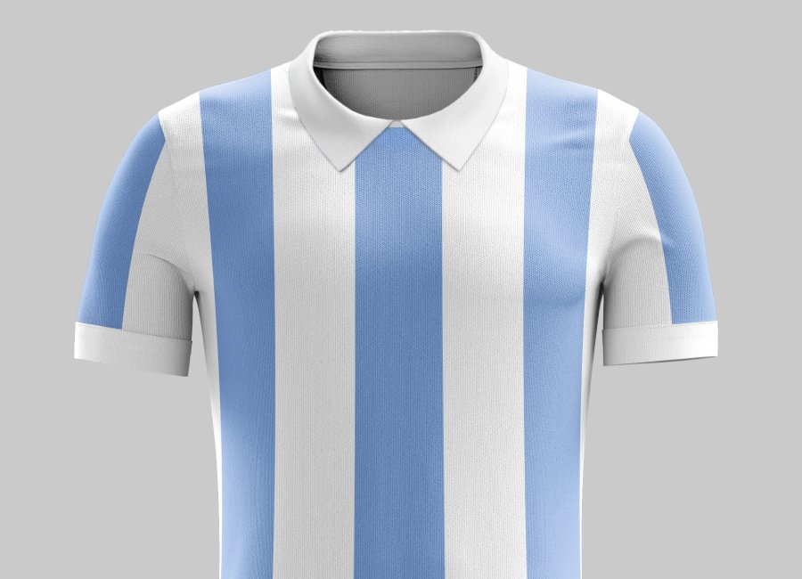 Top 35 #32 - Argentina 1966 Home Kit