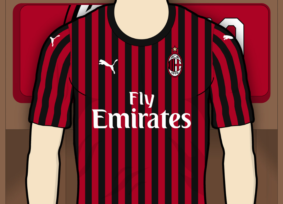 410e1c21e67 AC Milan 2019-20 Home Kit Prediction #acmilan #forzamilan #rossoneri  #ForeverMilan
