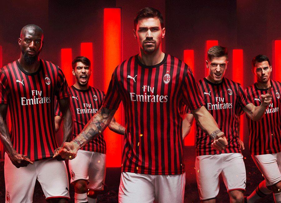 sale retailer 49a9f b8738 AC Milan 2019-20 Puma Home Kit | 19/20 Kits | Football shirt ...